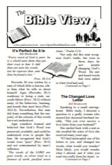 The Bible View #754